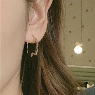 CARNIUS - Alloy Face Silhouette Earring