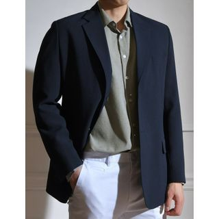 STYLEMAN - Two-Button Single-Breasted Blazer