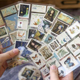 Milena - Print Stamp Design Sticker (various designs)