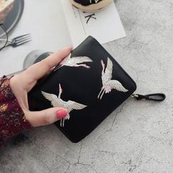 RAINBOWXX(レインボーXX) - 鶴の刺繍入り財布