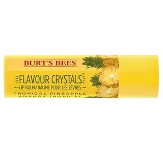 Burt's Bees - Tropical Pineapple Flavor Crystals Lip Balm, 0.15oz