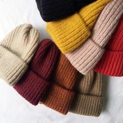 Heloi - Plain Knit Beanie