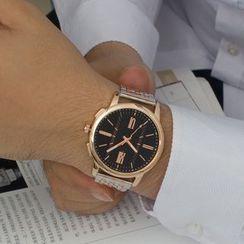 YAZOLE - 夜光钢带手表