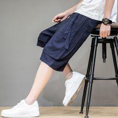 Ninine - 假兩件短褲