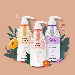 VILLAGE 11 FACTORY - Perfume Scrub Body Wash - 3 Types