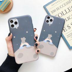 Wild Pony - Bear Print Phone Case for  iPhone 6S / 6S Plus / 7 / 7 Plus / 8 / 8 Plus / X / XS / XR / XS Max / 11 /11 Pro / 11 Pro Max