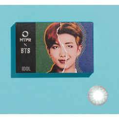 MTPR - BTS IDOL Monthly Color Lens #My Self Gray