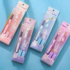 Eranso - Set: Rabbit Fountain Pen + Refill Ink Cartridge
