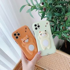 CeLLEAGUE - Lazy Cat Phone Case - iPhone 11, 11 Pro, 11 Pro Max, XS Max, X/XS, XR, 8p/7p, 8/7