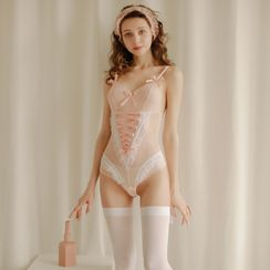 Ladies Night - Lingerie Lace Babydoll