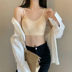 Closette - Sleeveless Padded Bra Top