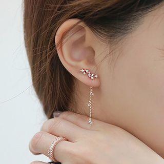 Karantu - 925 Sterling Silver Drop Earrings