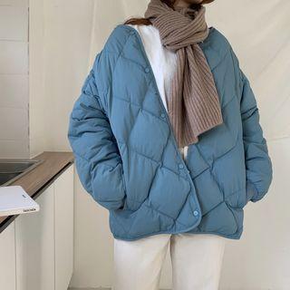 Vallepop - 絎縫飾扣外套