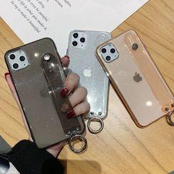 TreaSURE - 透明手带手机保护套 - iPhone 11 Pro Max / 11 Pro / 11 / XS Max / XS / XR / X / 8 / 8 Plus / 7 / 7 Plus / 6s / 6s Plus