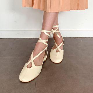 MERONGSHOP - Strappy Ballerina Flats