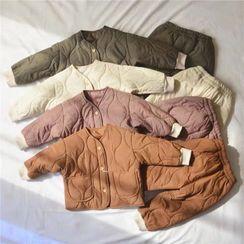 Cerula - 小童套裝: 絎縫夾克 + 褲