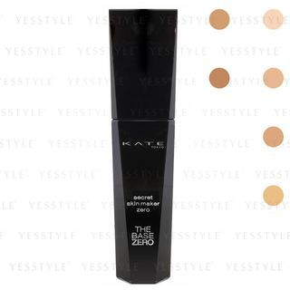 Kanebo - Kate Secret Skin Maker Zero Liquid Foundation SPF 18 PA++ - 6 Types