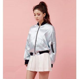 chuu - Pleated Mini Skirt
