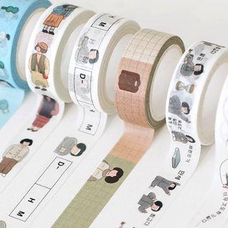 Full House - 印花美纹纸胶带