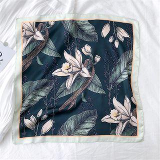 SOCOOL - Floral Print Scarf