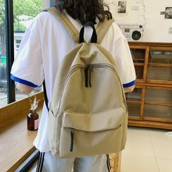 MUSA - Oxford Fabric Plain Backpack