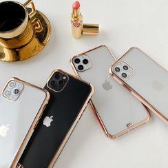 Drawnin - Transparent Back Phone Case - iPhone 11 Pro Max / 11 Pro / 11 / XS Max / XS / XR / X / 8 / 8 Plus / 7 / 7 Plus / 6s / 6s Plus