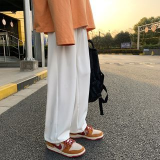 JUN.LEE - Wide Leg Dress Pants