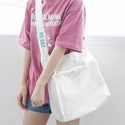 Bagaz - Lettering Diagonal Shoulder Bag
