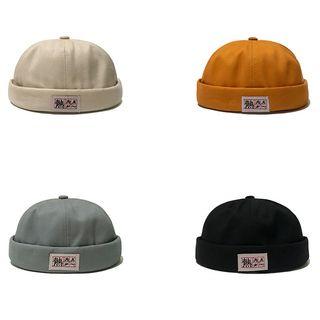 Heloi - Applique Brimless Hat