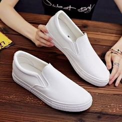 Solejoy - Couple Matching Slip-On Sneakers