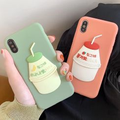 Xianto - Drink Mobile Case - iPhone XS Max / XS / XR / X / 8 / 8 Plus / 7 / 7 Plus / 6s / 6s Plus / Samsung