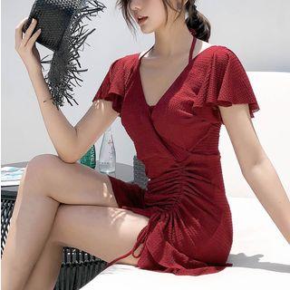 Jumei - V-nkec swim Dress