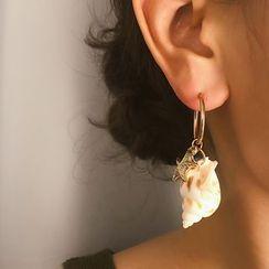 Seirios - 贝壳耳坠