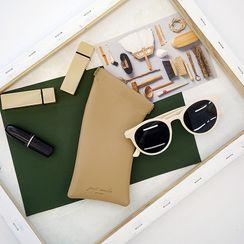 Sweetli - Faux Leather Eyeglasses Case
