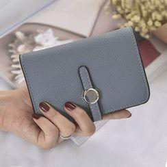 Clair Fashion - 韩版新款多夹层零钱袋中夹