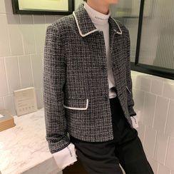 VEAZ - Button-Up Tweed Jacket