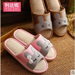 Simply Walk - Couple's Matching Rabbit Slippers