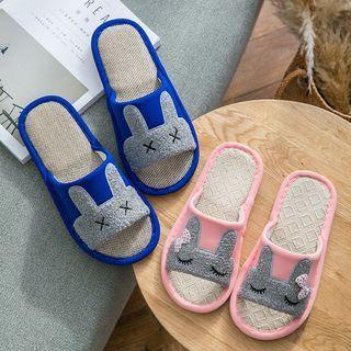 Simply Walk - Pantuflas de conejo a juego con la pareja