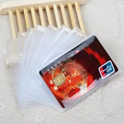 Peitho - Transparent RFID Blocking Card Holder