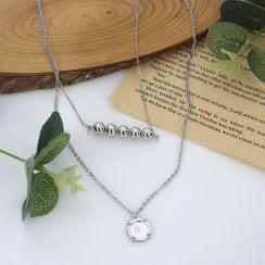 DANI LOVE - Pendant Layered Necklace
