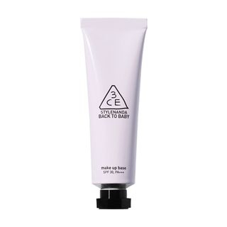 3CE - Back To Baby Make Up Base SPF30 PA+++ 30ml #Lavender