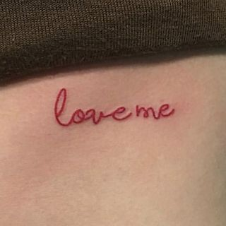METZ - Lettering Waterproof Temporary Tattoo