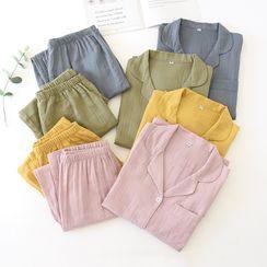 Dogini - Plain Pajama Set