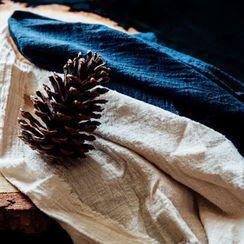 Rabenda - 缩褶麻布茶巾