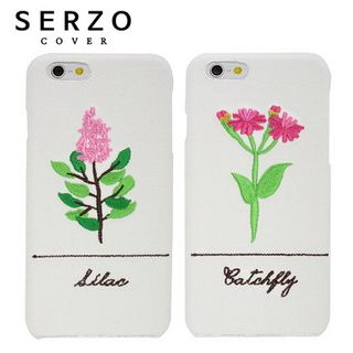 LIFE STORY - Flower Embroidery iPhone 6 / 6S / 7 / Galaxy S7 Case