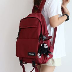 Little Days - Buckled Canvas Backpack