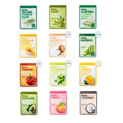 Farm Stay - Real Essence Mask - 12 Types