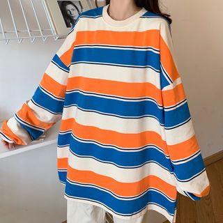Mushini - 條紋衛衣
