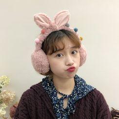 GULB - Rabbit Ear Chenille Earmuffs
