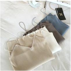 Colsme - 纯色吊带背心